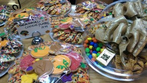 Thanksgiving cookie plate
