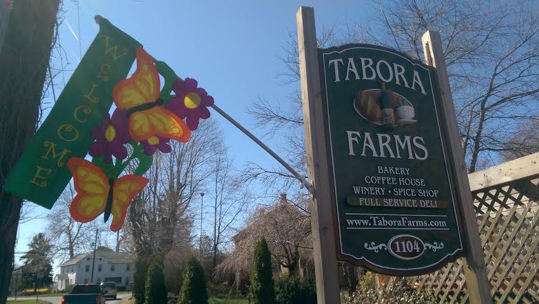 Tabora Farms - Spring Welcome Sign